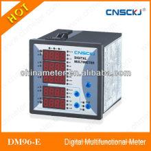 Three-phase AC Volt Amp LCD display multimeter