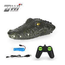 Simulation crocodile remote control boat to protect the water ecology funny toys