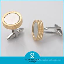 China Manufacturer Wholesale Brass Metal Cufflinks (BC-0004)