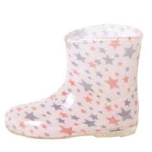 Цветные звезды подкладке Baby дождь сапоги