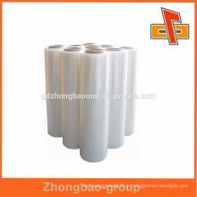 Película de estiramento de PE / PVC de boa qualidade para embalagem de embalagens de alimentos