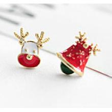Jóias de Natal / brinco de Natal / veado de Natal (XER13355)