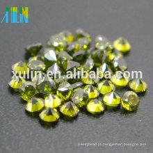 cor verde cz pedra preciosa china cubic zirconia