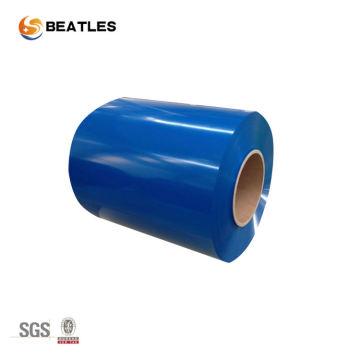 Bobina de alumínio com revestimento colorido