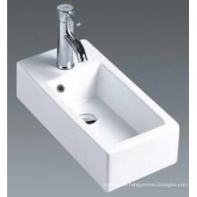 Ceramic Wall Hung Bathroom Basin (7098A)
