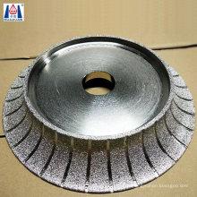 Vacuum Brazed Diamond Grinding Tool Bullnose Profiling Wheel for Granite