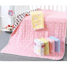 couverture de bébé en coton jacquard 6 couches utile