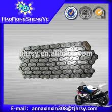 Cadena 520 de la motocicleta de la alta resistencia a la tracción para la venta caliente