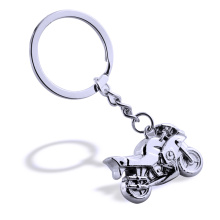 Newly Design Motorcycle Shape Decorative Metal Keychain