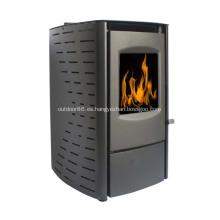 Mini calentador portátil de sobremesa con chimenea eléctrica