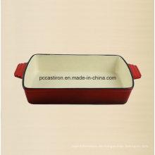 Emaille Gusseisen Backen Pan Hersteller aus China