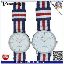 Yxl-546 Japan Quarz Movt und Nylon Strap Einfache Stil Kollektion Paar Lover Armbanduhr