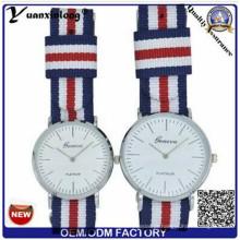 Yxl-546 Japão Quartz Movt e Strap Nylon Coleção Estilo simples Couple Lover Relógio de Pulso