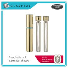 RONDO Slim RC Twist et Spray Shiny Gold 15ml Bouteille de parfum remplaçable