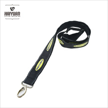 Double Layer Thick Polyester Gewebe Satin Lanyard