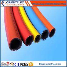 Tuyau de gaz de GPL tressé de fibre de PVC pour le fourneau de gaz de four