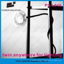 Lampe d'urgence solaire portable avec chargeur de téléphone