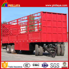 3 Axles Large Capacity Storehouse Type Draw Bar Trailer