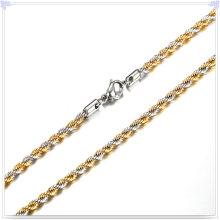 Collar de la manera de la joyería de la manera Cadena de acero inoxidable (SH014)