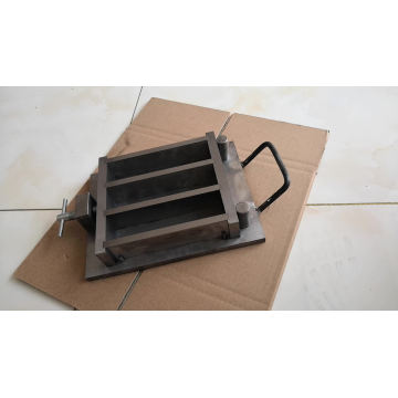 40*40*160mm Three Gang Moulds steel three gang concrete test mould
