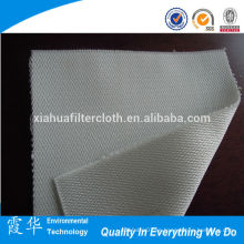 Paño de filtro de polipropileno anti-abrasión para filtros de correa horizontales