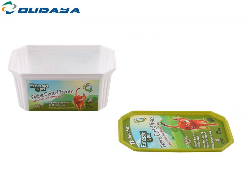 New design PP plastic IML ice cream container