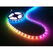 Tira de LED de color de ensueño de brillo estupendo SMD 5050 6803 Cinta de tira de LED flexible IC