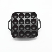 Cast Iron Danish Aebleskiver Pan with 16 Holes