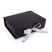Роскошное черное складное свадебное платье Подарочная коробка