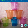 Disposable Transparent Plastic Drinking Cup