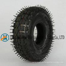 4.10 / 3.50-4 rueda de goma con neumático neumático
