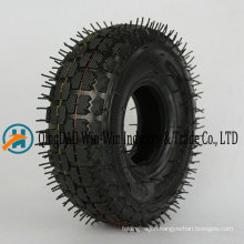 4.10/3.50-4 Rubber Wheel with Pneumatic Tyre