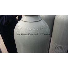 99,9% N2o Gás Enchido em 40L Cilindro De Gás Vol 20 kg / Cilindro, Qf-2 Válvula