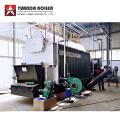 Chaudière à vapeur à grille à chaîne à charbon automatique emballée