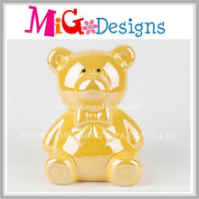 Wholesale Decoration Ceramic Bear Piggy Bank