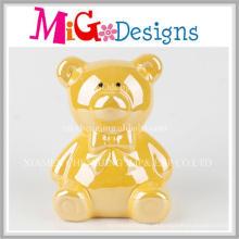 Atacado Decoração Cerâmica Urso Mealheiro