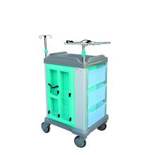 Chariot d'hôpital d'ABS pour l'usage chirurgical ou d'urgence