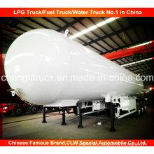 3 Axle LPG Transport Tank Trailer LPG Tank Semi Trailer