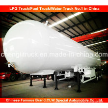 3 Eixos LPG Transporte Tanque Trailer Semi-reboque de Gás