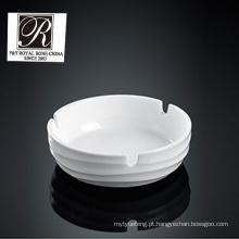 Hotel oceano linha moda elegância branco cinzeiro de porcelana pt-t0535