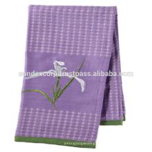 Handtücher aus Baumwolle / Leinen