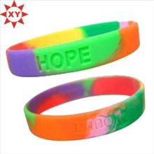 Bracelet épais de silicone de prix de bouteille pour le camp d'été (XY-MXL73004)