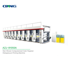 Fully Computerized Color Register Small Automatic Rotogravure Printing Machine