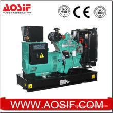 50HZ 63KVA diesel silent generator power by Cummins engine 4BAT3.9-G2 from Cummins OEM facotry