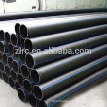 Tubo PE100 de polpa mineral PE100 Tubo de polietileno PE100