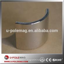 Hot Sale N50 Segment Arc NdFeB Neodymium Magnet