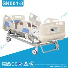 SK001-3 Многофункциональный Электрический Регулируемая Больничная кровать оборудования