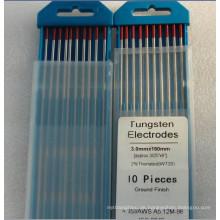 Boden-Oberfläche Wt30 thorierten Wolframelektrode Dia2.4 * 150 mm