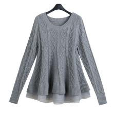Pull de pull à tricoter en organza 2016 en épicéa
