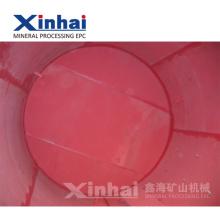 China Rotes Naturlatex-Blatt-und Gummi-Futter für Bergwerk-Maschine